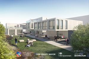 BOHO 8 Project Middlesborough Modular office facility (LRes)