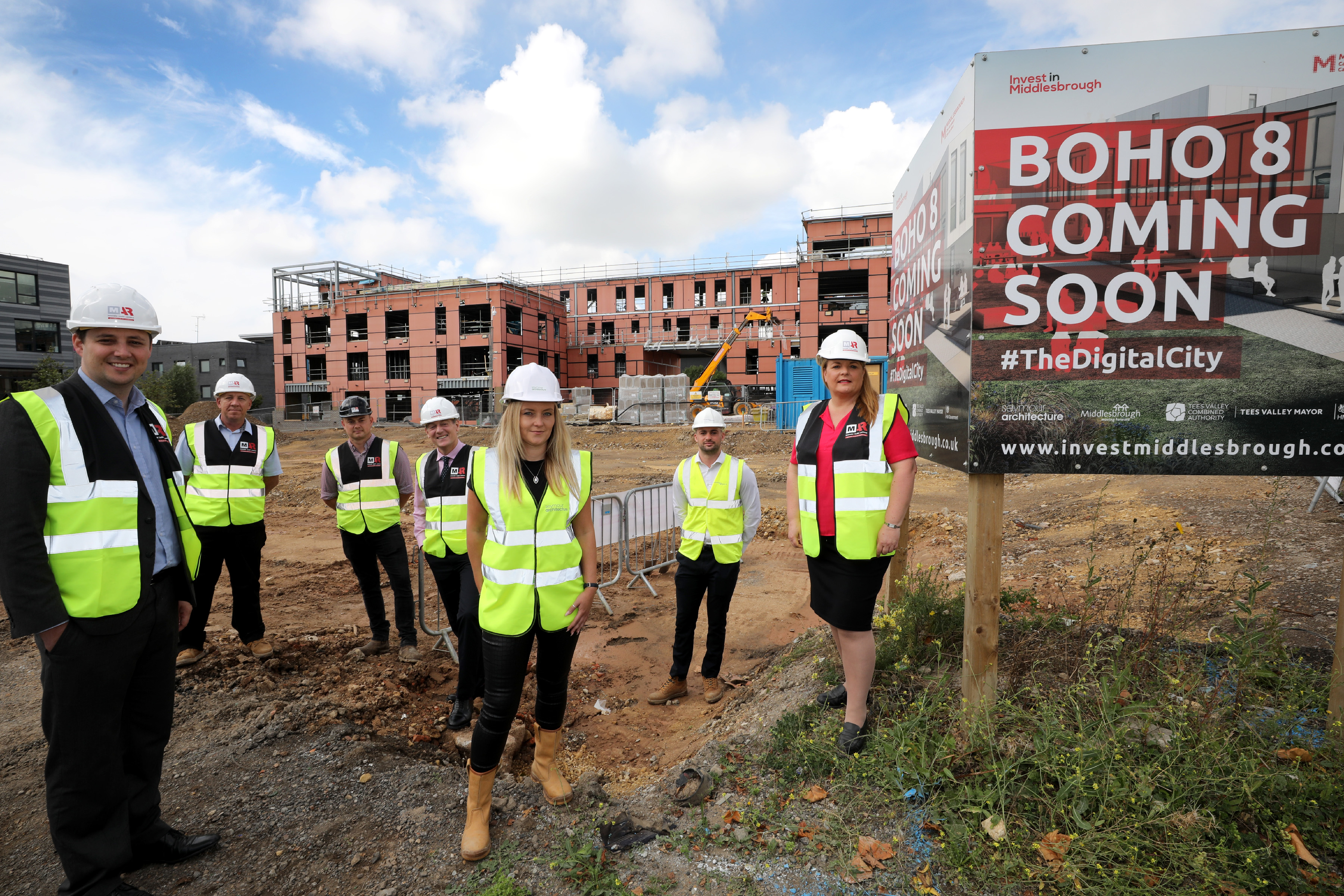 Construction underway for the ambitious BoHo 8 modular offices project