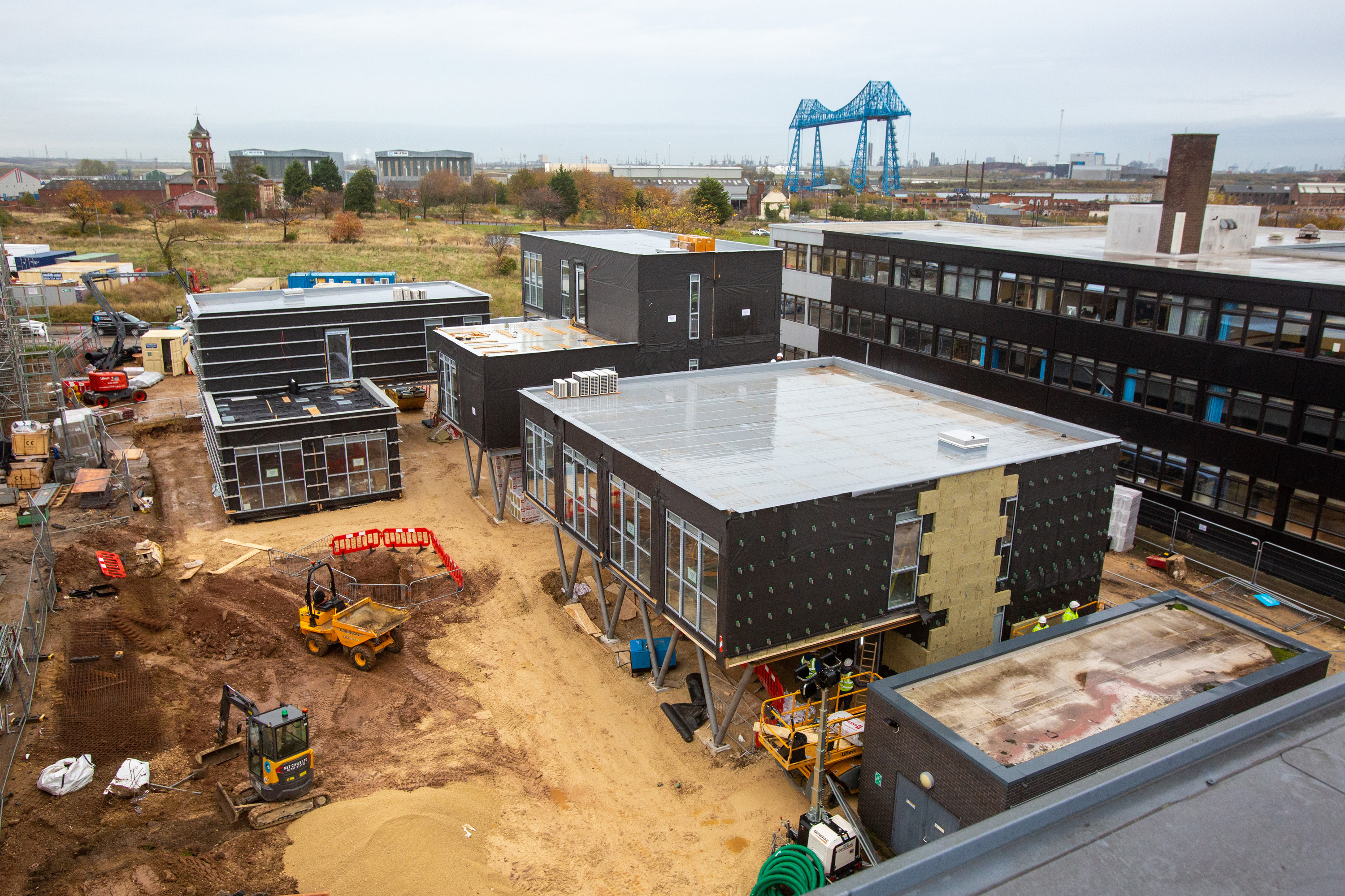 Progress picks up pace for BoHo 8 modular offices, Middlesbrough
